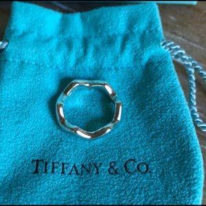 "Authentic ""Zig Zag"" Tiffany's ring"
